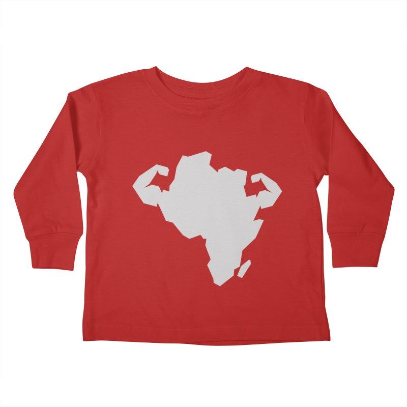 AFRI-CAN Kids Toddler Longsleeve T-Shirt by udegbunamtbj's Artist Shop