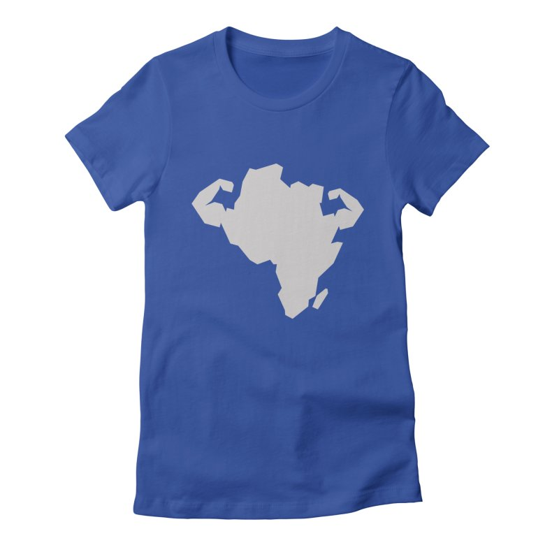 AFRI-CAN Women's Fitted T-Shirt by udegbunamtbj's Artist Shop