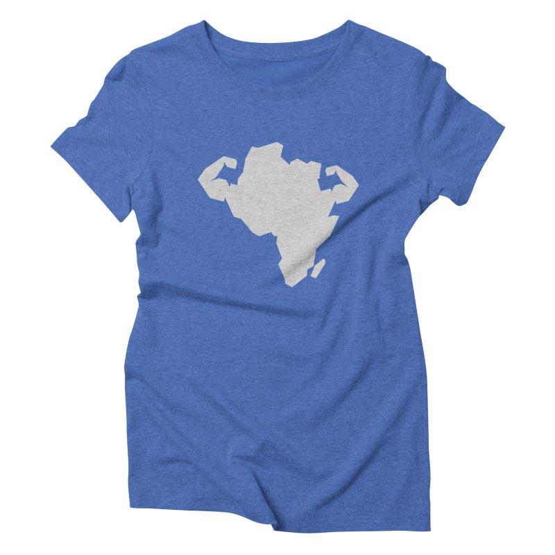 AFRI-CAN Women's Triblend T-Shirt by udegbunamtbj's Artist Shop