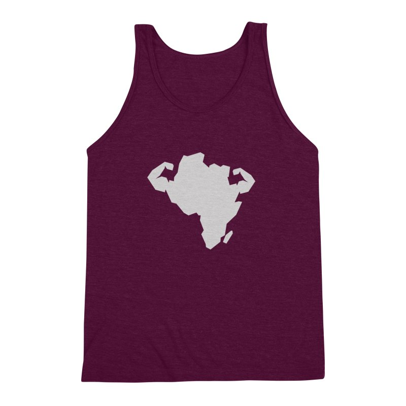 AFRI-CAN Men's Triblend Tank by udegbunamtbj's Artist Shop