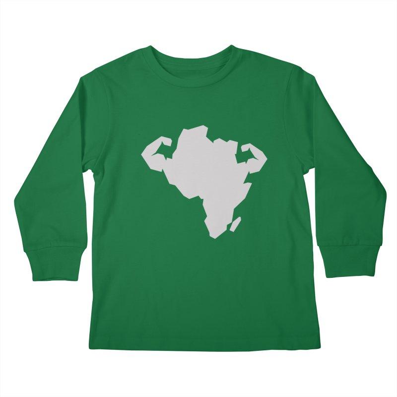 AFRI-CAN Kids Longsleeve T-Shirt by udegbunamtbj's Artist Shop