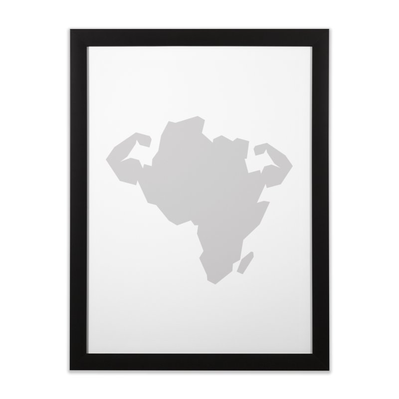 AFRI-CAN Home Framed Fine Art Print by udegbunamtbj's Artist Shop