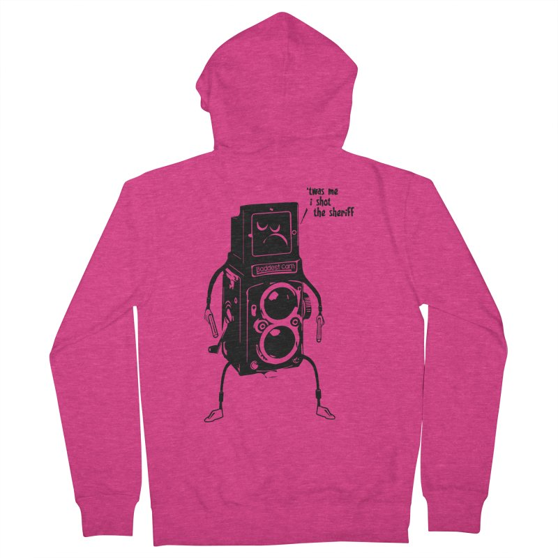 Bad Camera Women's Zip-Up Hoody by udegbunamtbj's Artist Shop