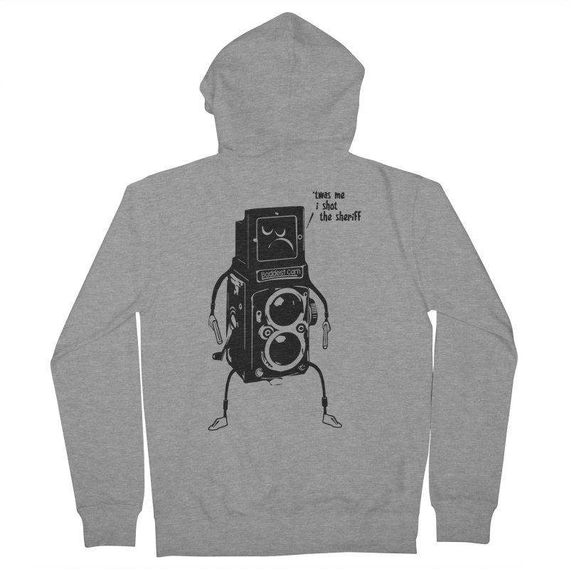 Bad Camera Men's Zip-Up Hoody by udegbunamtbj's Artist Shop