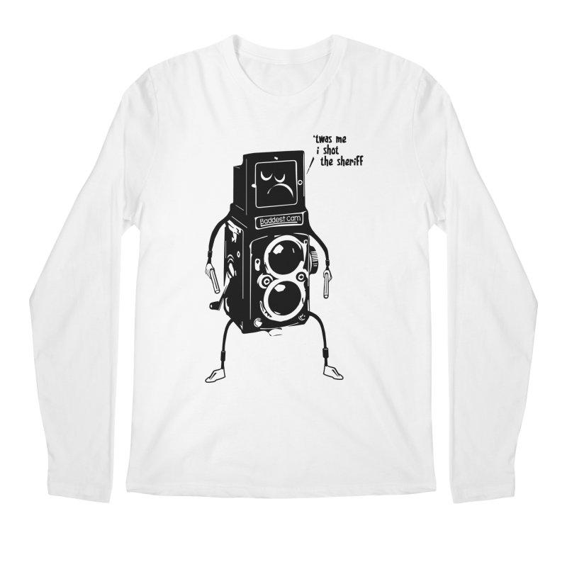 Bad Camera Men's Longsleeve T-Shirt by udegbunamtbj's Artist Shop