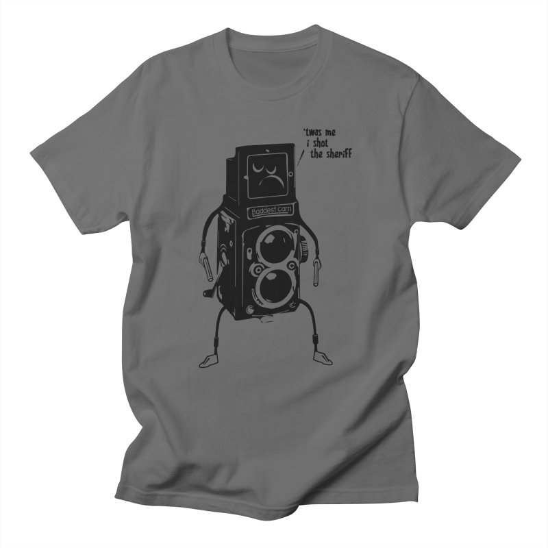 Bad Camera Men's T-shirt by udegbunamtbj's Artist Shop