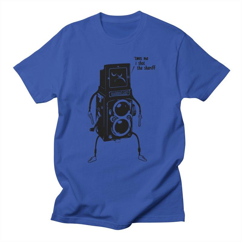 Bad Camera Men's T-shirt by udegbunamtbj's Artist Shop