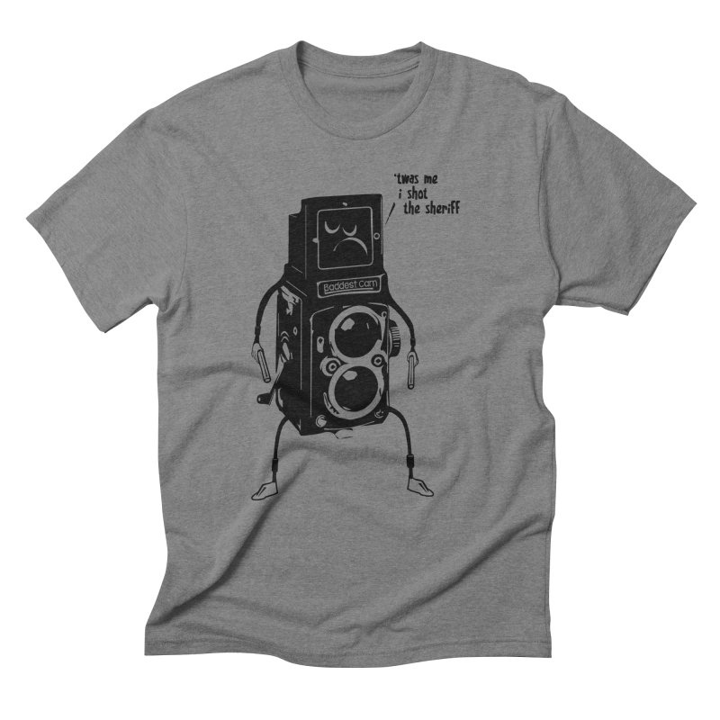 Bad Camera Men's Triblend T-Shirt by udegbunamtbj's Artist Shop