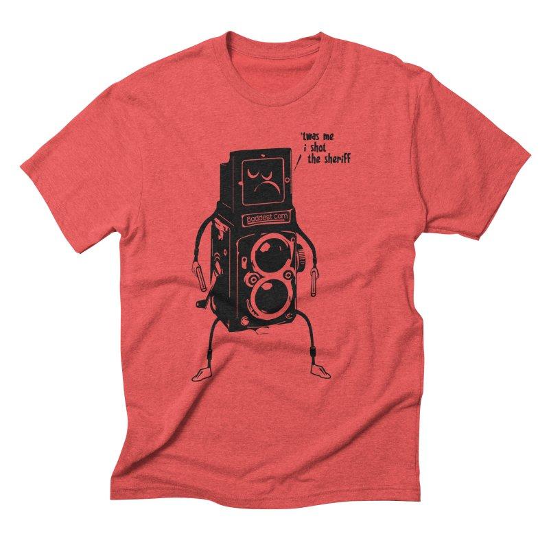 Bad Camera Men's Triblend T-Shirt by udegbunamtbj's Artist Shop