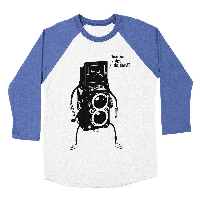 Bad Camera Women's Baseball Triblend T-Shirt by udegbunamtbj's Artist Shop