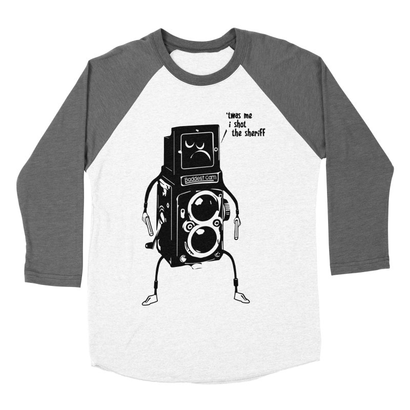 Bad Camera Women's Baseball Triblend T-Shirt by udegbunamtbj's Artist Shop