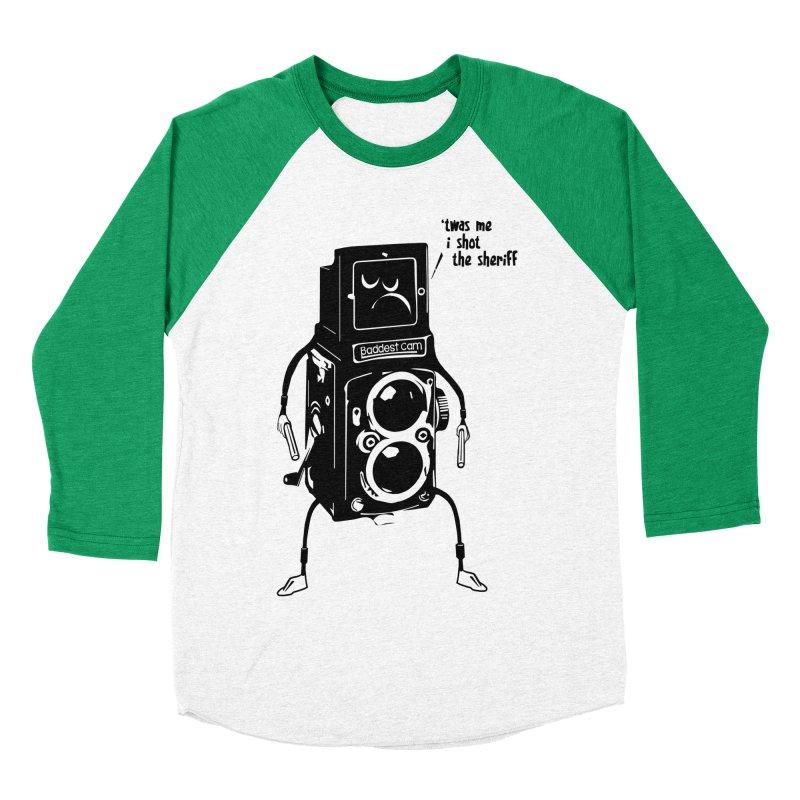 Bad Camera Men's Baseball Triblend T-Shirt by udegbunamtbj's Artist Shop