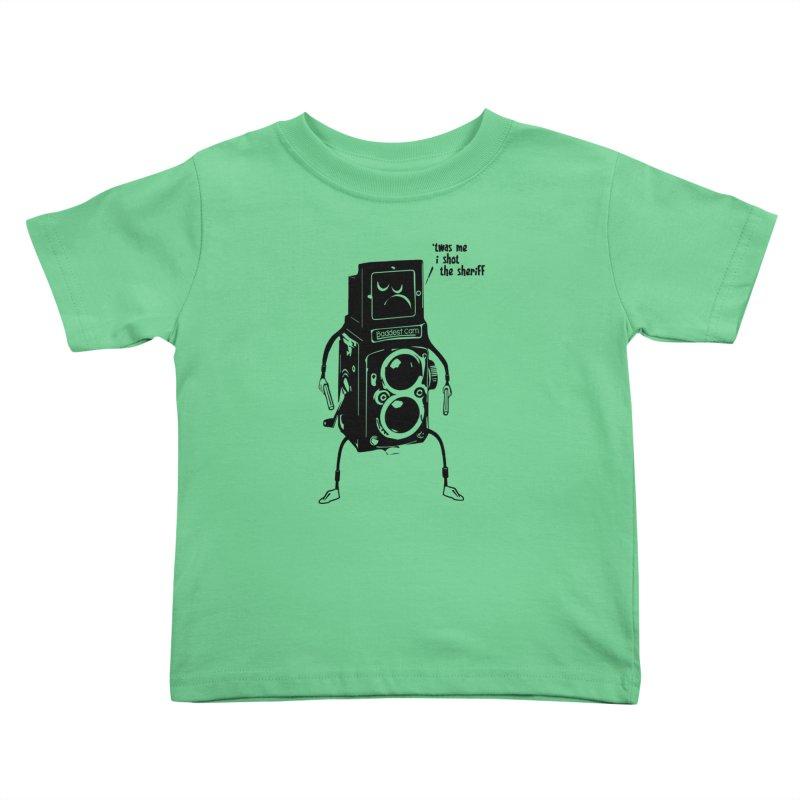 Bad Camera Kids Toddler T-Shirt by udegbunamtbj's Artist Shop