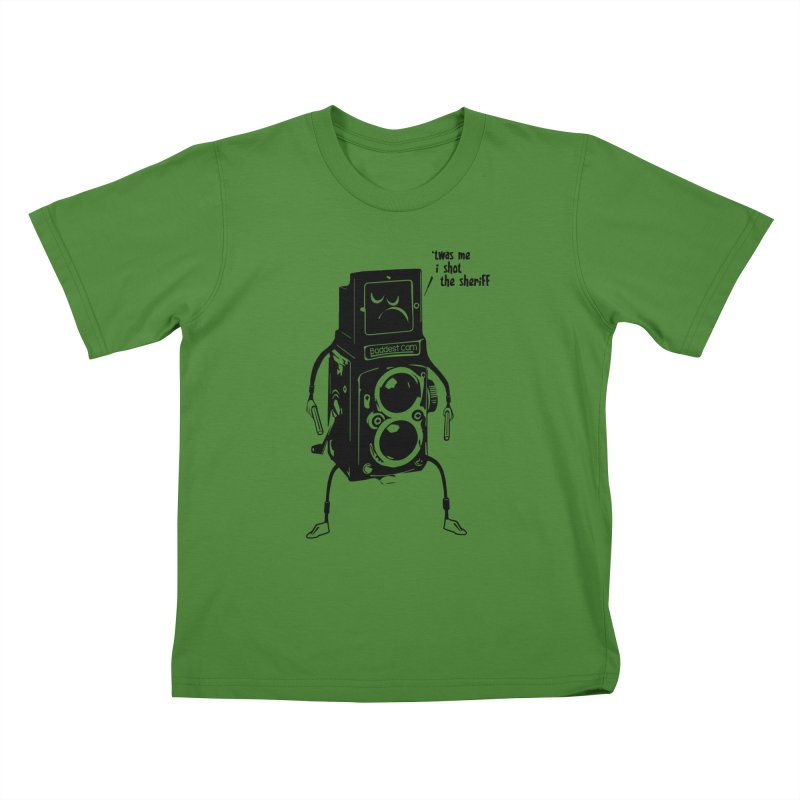 Bad Camera Kids T-shirt by udegbunamtbj's Artist Shop