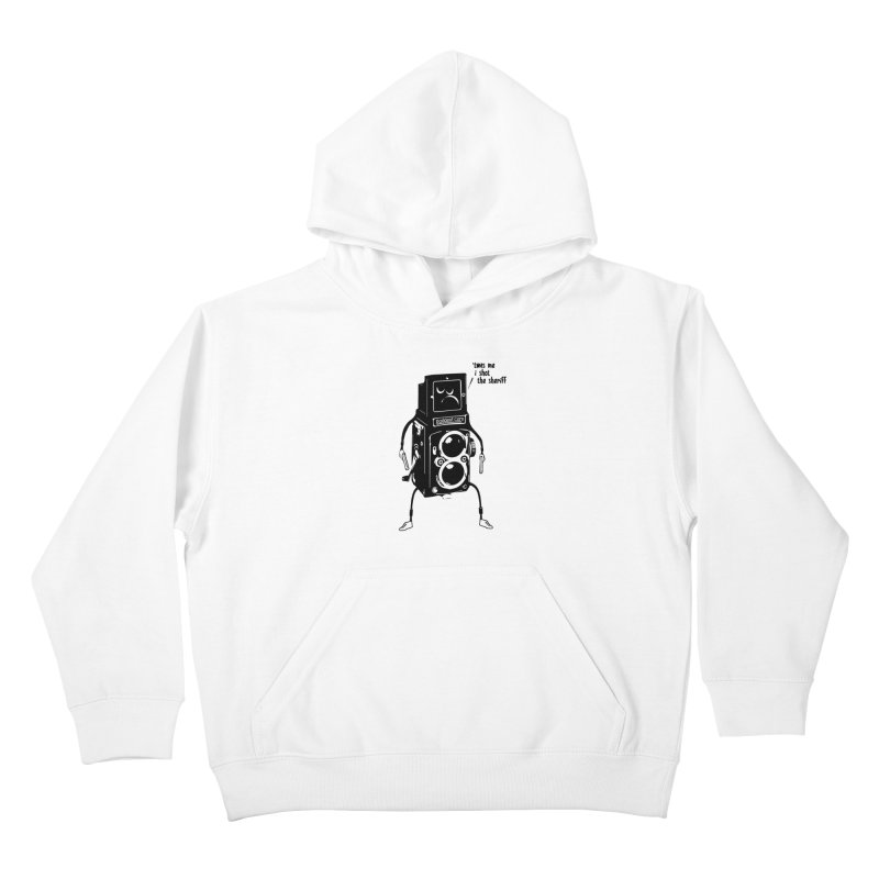 Bad Camera Kids Pullover Hoody by udegbunamtbj's Artist Shop