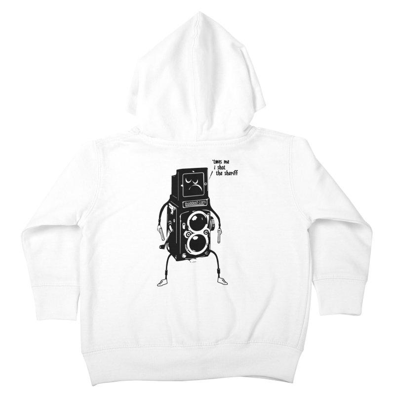 Bad Camera Kids Toddler Zip-Up Hoody by udegbunamtbj's Artist Shop