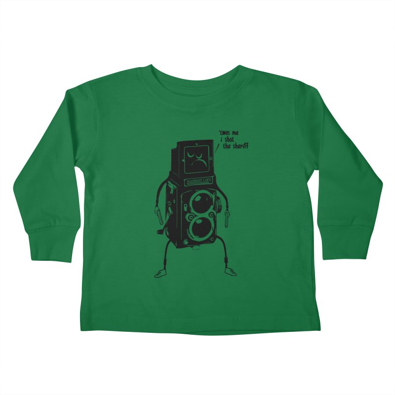 Bad Camera Kids Toddler Longsleeve T-Shirt by udegbunamtbj's Artist Shop