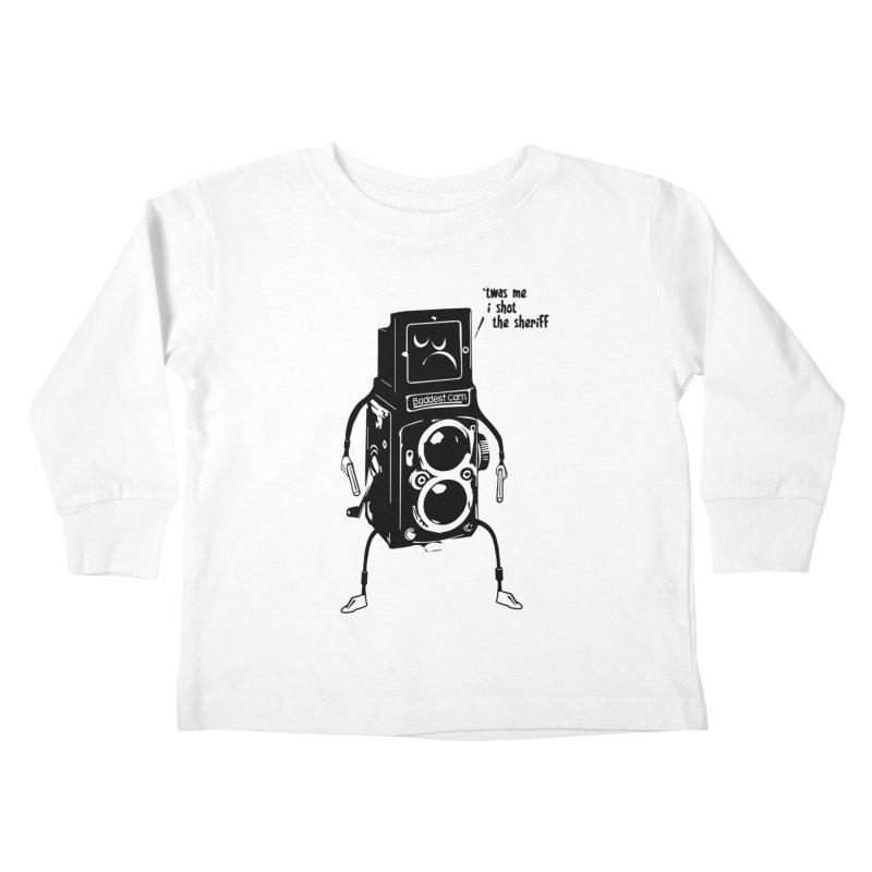 Bad Camera Kids Toddler Longsleeve T-Shirt by udegbunamtbj's Artist Shop