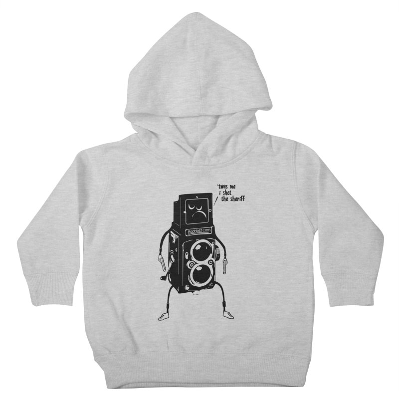 Bad Camera Kids Toddler Pullover Hoody by udegbunamtbj's Artist Shop