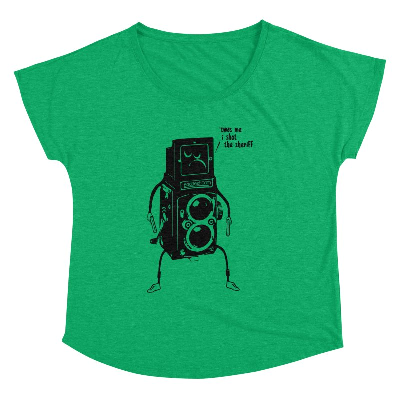 Bad Camera Women's Dolman by udegbunamtbj's Artist Shop
