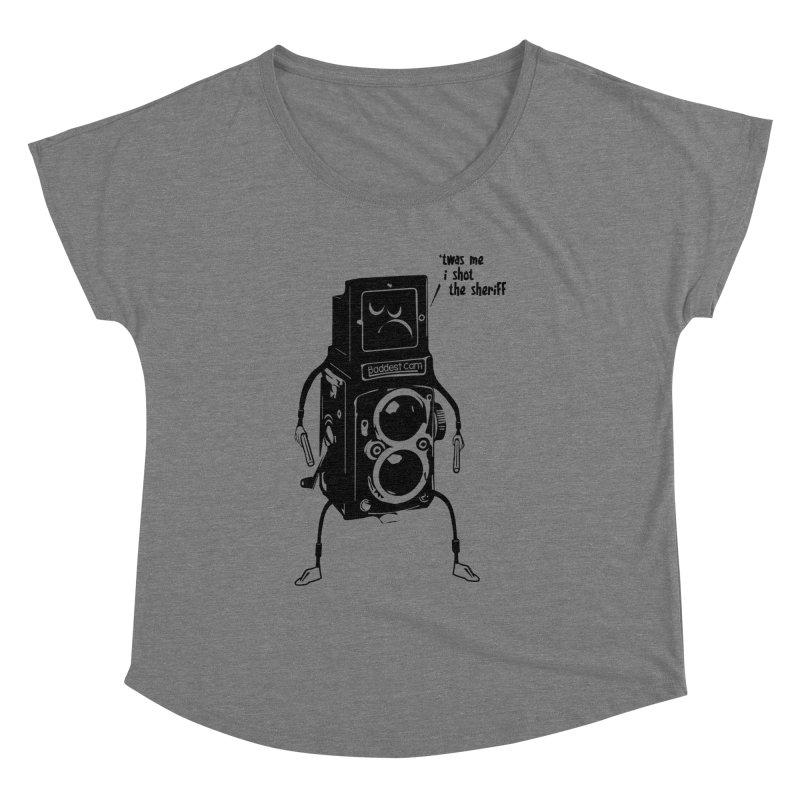 Bad Camera Women's Dolman by udegbunamtbj's Artist Shop