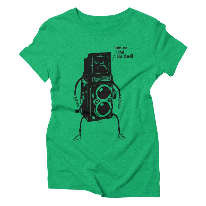 Bad Camera Women's Triblend T-Shirt by udegbunamtbj's Artist Shop