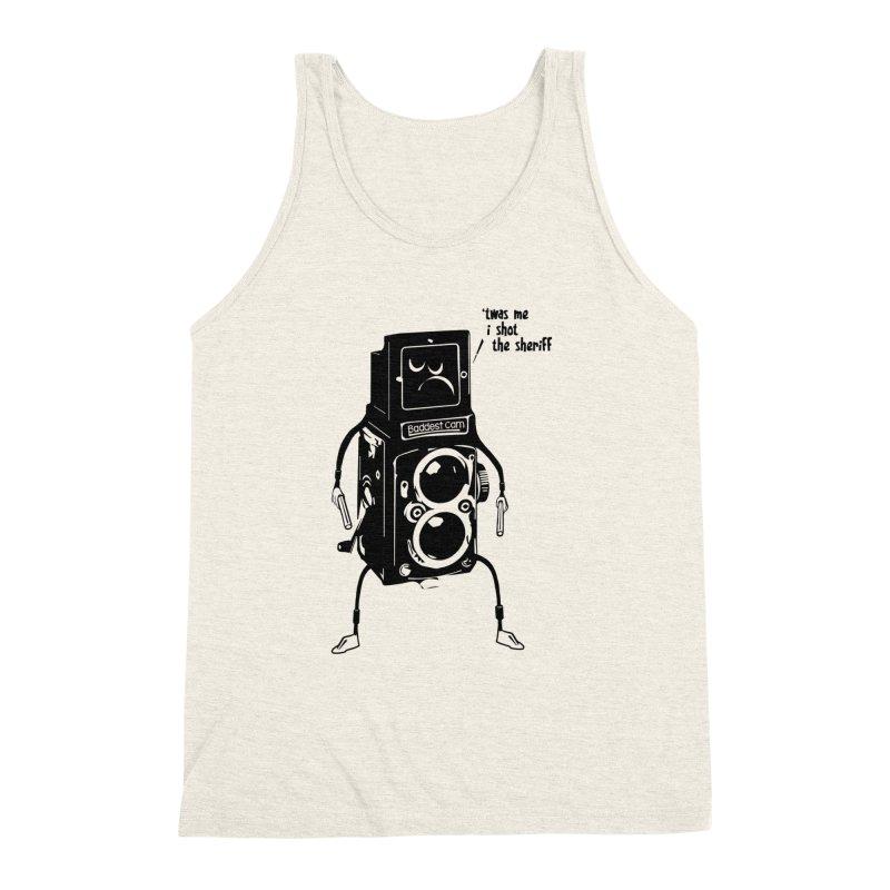 Bad Camera Men's Triblend Tank by udegbunamtbj's Artist Shop