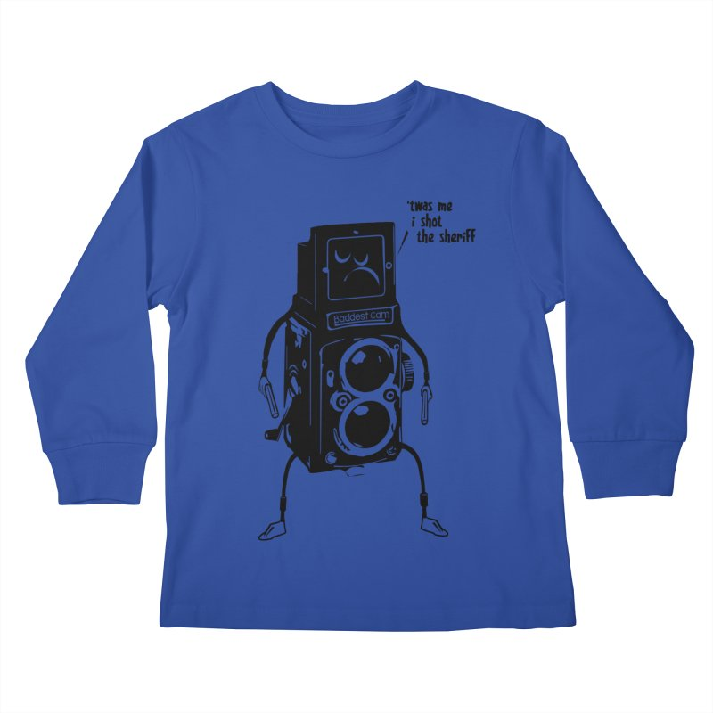 Bad Camera Kids Longsleeve T-Shirt by udegbunamtbj's Artist Shop