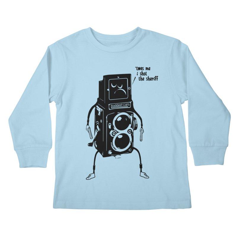 Bad Camera Kids Longsleeve T-Shirt by udegbunamtbj's Artist Shop