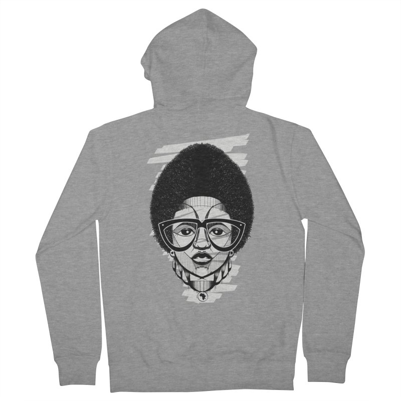 Let it fro! Women's Zip-Up Hoody by udegbunamtbj's Artist Shop