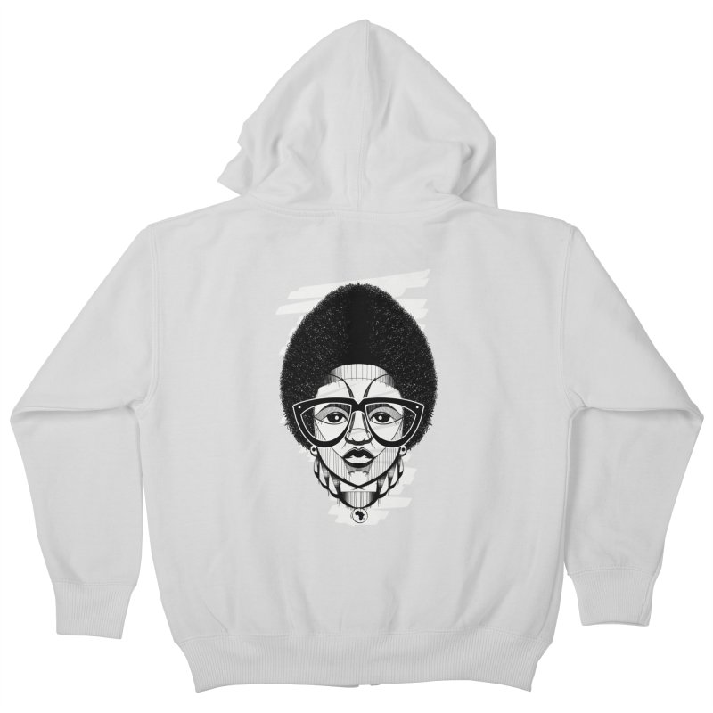 Let it fro! Kids Zip-Up Hoody by udegbunamtbj's Artist Shop