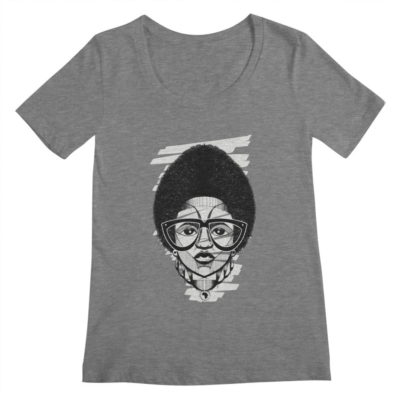 Let it fro! Women's Scoopneck by udegbunamtbj's Artist Shop