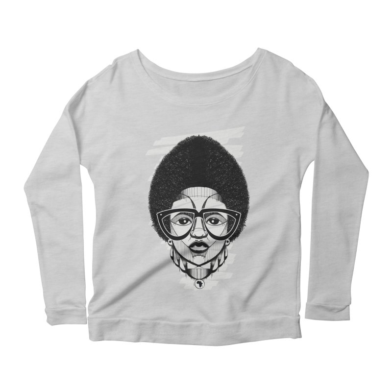 Let it fro! Women's Longsleeve Scoopneck  by udegbunamtbj's Artist Shop