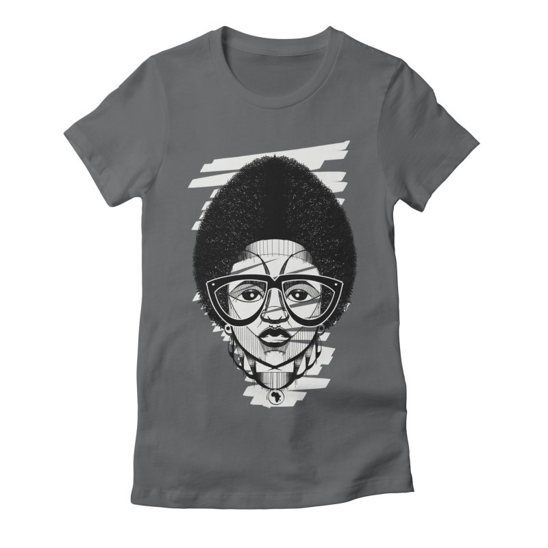 Let it fro! Women's Fitted T-Shirt by udegbunamtbj's Artist Shop