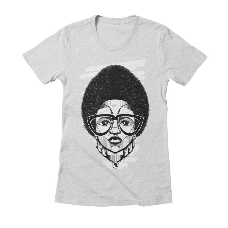 Let it fro! Women's Fitted T-Shirt by udegbunamtbj's Artist Shop