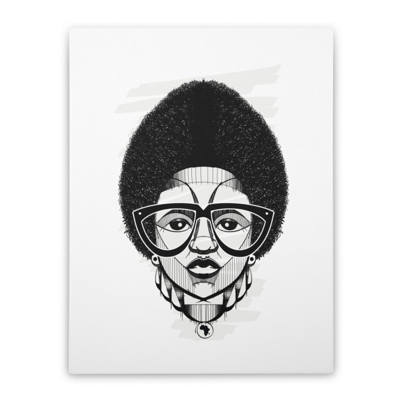 Let it fro! Home Stretched Canvas by udegbunamtbj's Artist Shop