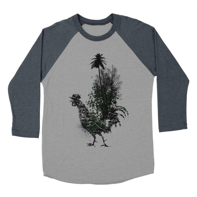 Good morning Men's Baseball Triblend T-Shirt by udegbunamtbj's Artist Shop