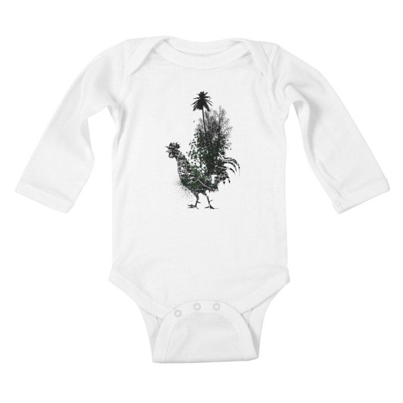 Good morning Kids Baby Longsleeve Bodysuit by udegbunamtbj's Artist Shop
