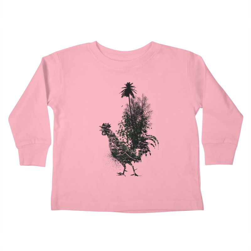 Good morning Kids Toddler Longsleeve T-Shirt by udegbunamtbj's Artist Shop