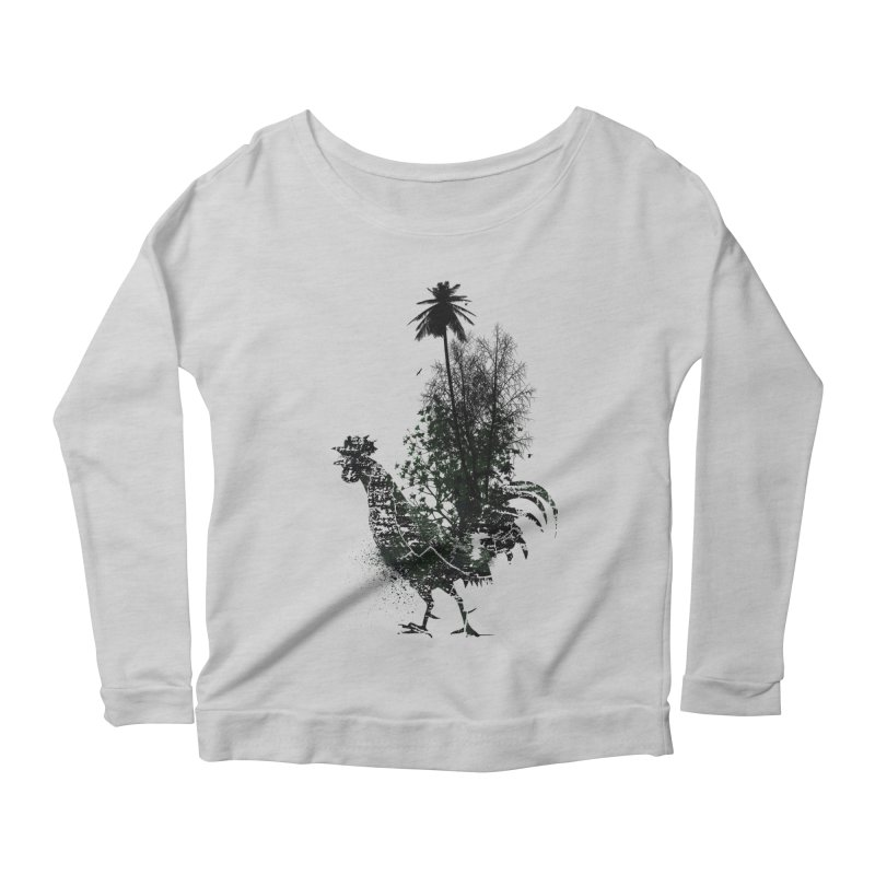 Good morning Women's Longsleeve Scoopneck  by udegbunamtbj's Artist Shop