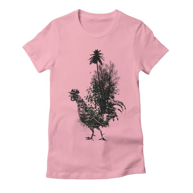 Good morning Women's Fitted T-Shirt by udegbunamtbj's Artist Shop