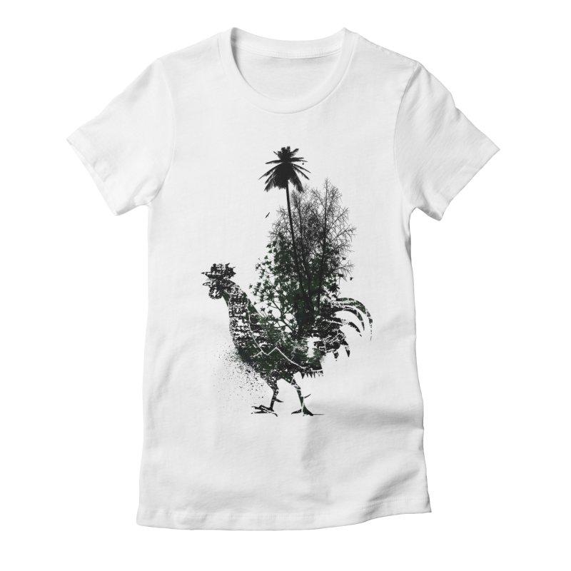 Good morning Women's Fitted T-Shirt by udegbunamtbj's Artist Shop