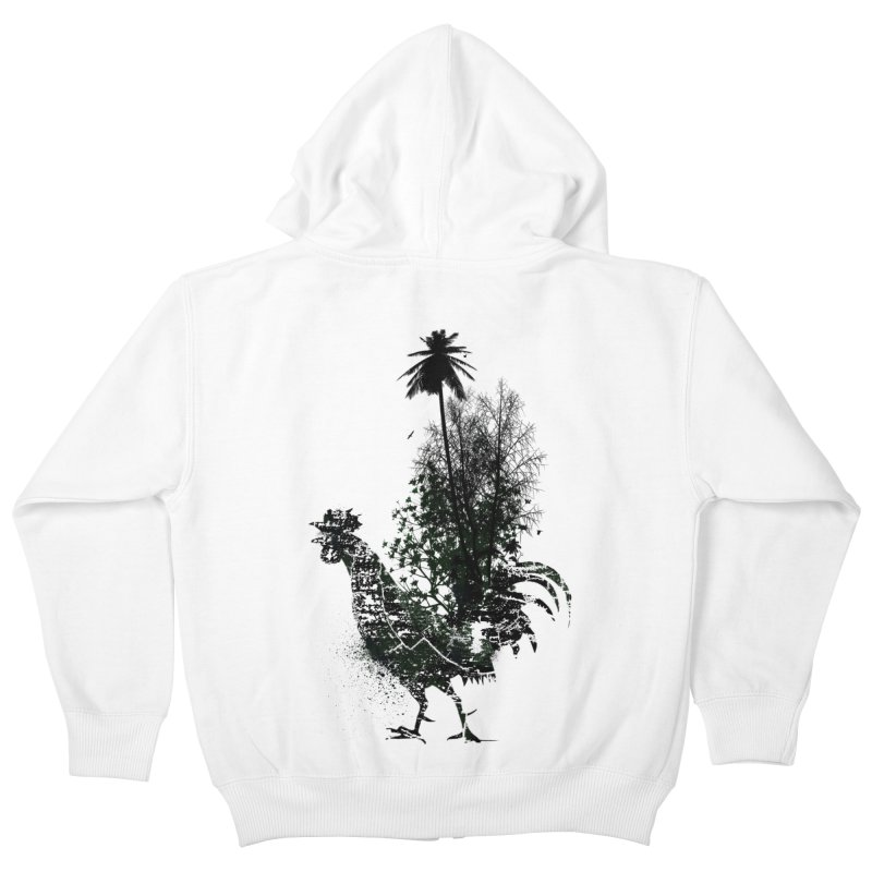 Good morning Kids Zip-Up Hoody by udegbunamtbj's Artist Shop