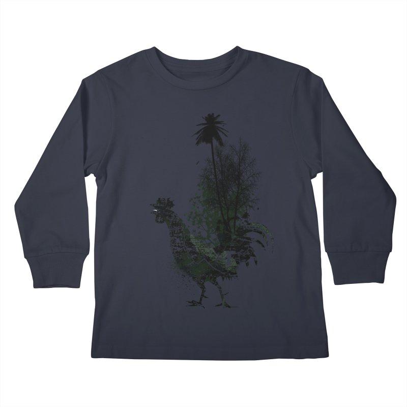 Good morning Kids Longsleeve T-Shirt by udegbunamtbj's Artist Shop