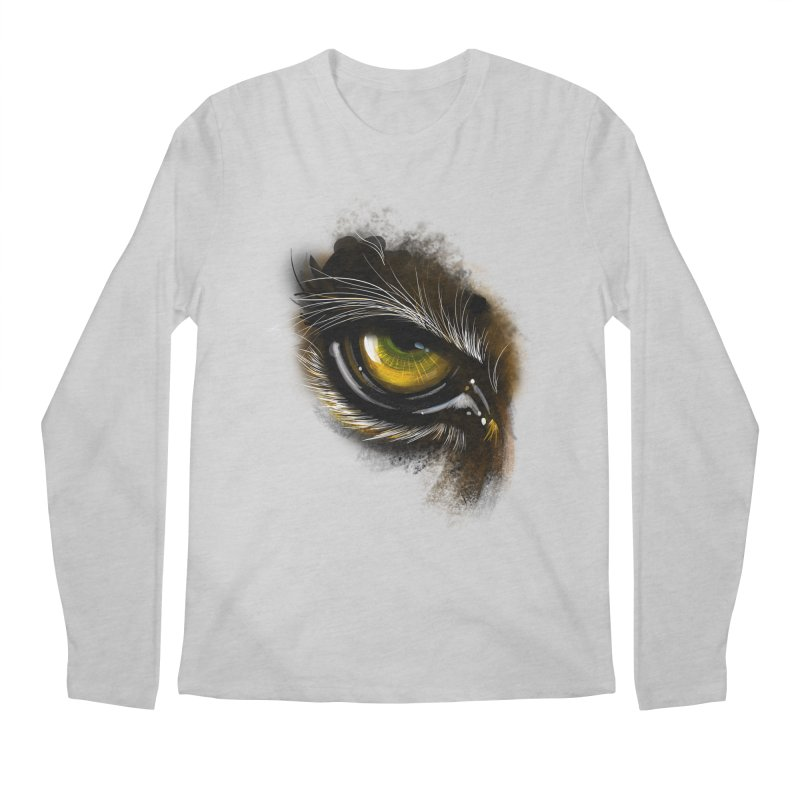 Eye Tiger Men's Longsleeve T-Shirt by udegbunamtbj's Artist Shop