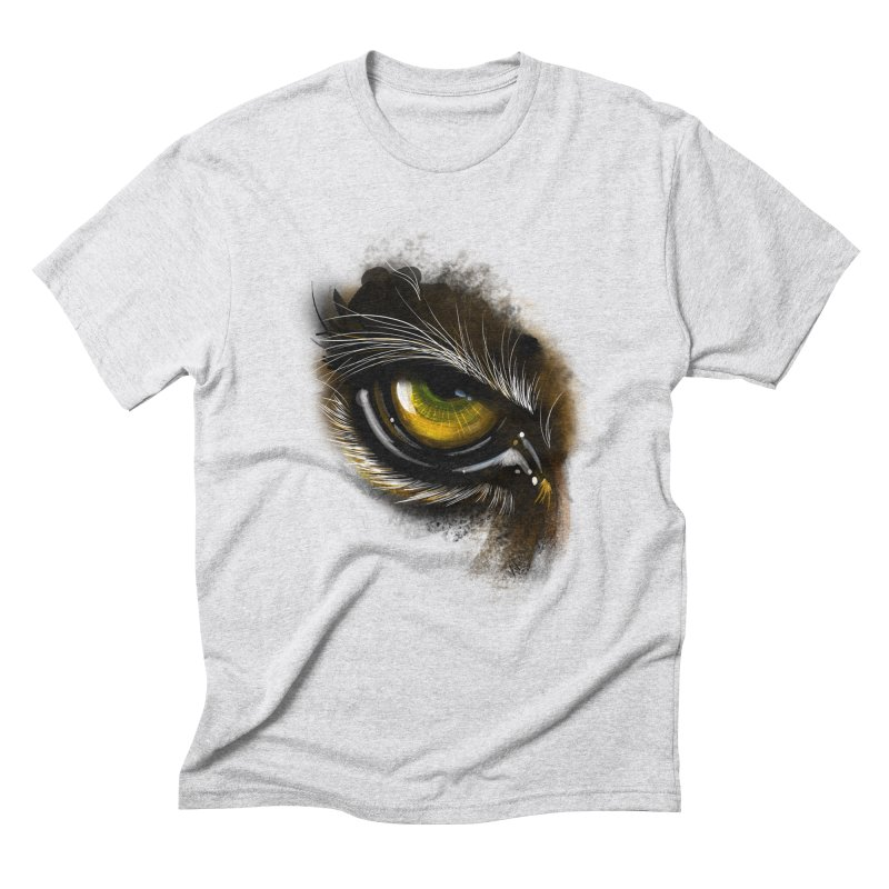 Eye Tiger Men's Triblend T-Shirt by udegbunamtbj's Artist Shop