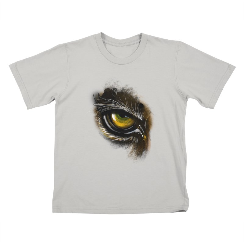 Eye Tiger Kids T-shirt by udegbunamtbj's Artist Shop