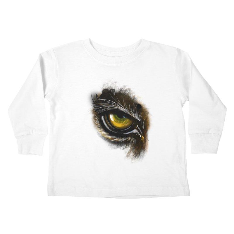 Eye Tiger Kids Toddler Longsleeve T-Shirt by udegbunamtbj's Artist Shop