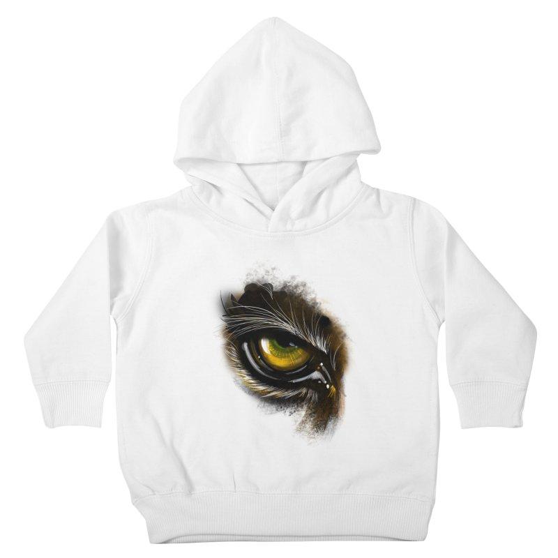 Eye Tiger Kids Toddler Pullover Hoody by udegbunamtbj's Artist Shop