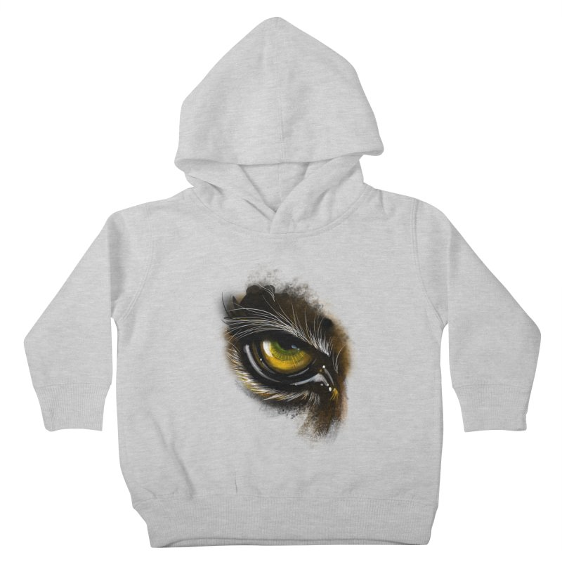 Eye Tiger Kids Toddler Pullover Hoody by udegbunamtbj's Artist Shop